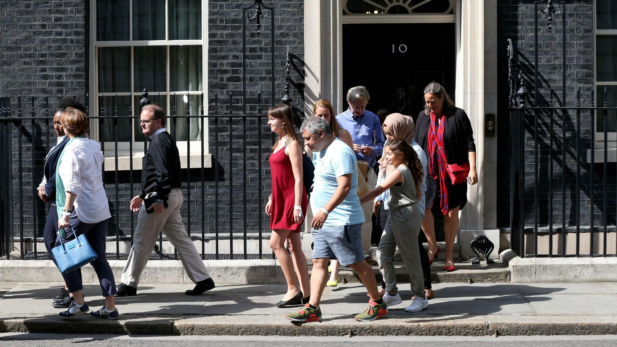 British PM to meet fire survivors in Downing St